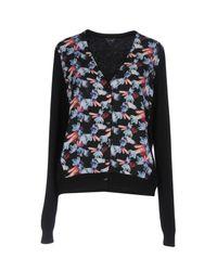 Armani Jeans - Black Jewel Print Cardigan - Lyst