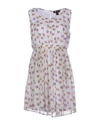 Cutie - White Short Dresses - Lyst