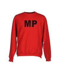 Mp Massimo Piombo - Red Sweatshirt for Men - Lyst