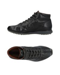 Car Shoe Black High-tops & Sneakers for men