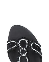 Loretta Pettinari - Black Sandals - Lyst