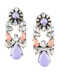 Shourouk - Purple Earrings - Lyst