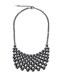 Jolie By Edward Spiers | Gray Necklace | Lyst