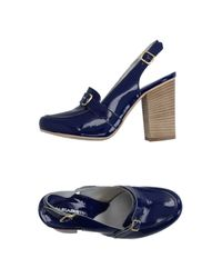 Accademia - Blue Loafer - Lyst