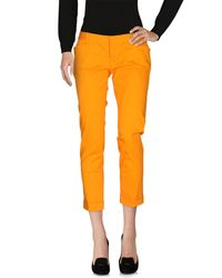 DSquared² - Orange Casual Pants - Lyst