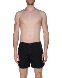 North Sails - Black Swimming Trunks for Men - Lyst