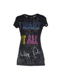 Philipp Plein - Black T-shirts - Lyst