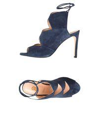 8 - Blue Sandals - Lyst