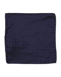 DSquared² - Blue Square Scarf - Lyst