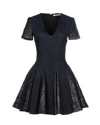 Amen - Blue Short Dress - Lyst