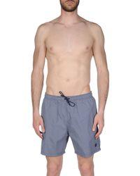 Armani - Blue Swimming Trunks for Men - Lyst