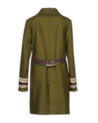 Bazar Deluxe - Green Coat - Lyst