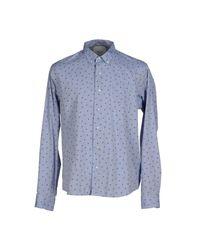 Bion - Blue Shirt for Men - Lyst