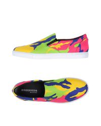 DSquared² | Purple Low-tops & Sneakers for Men | Lyst