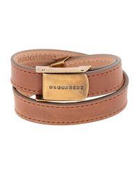 DSquared² - Brown Bracelet - Lyst