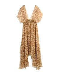 Mes Demoiselles - Natural Knee-length Dress - Lyst