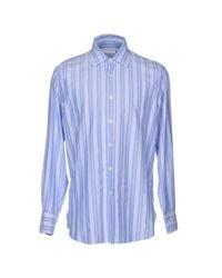 Ballantyne - Purple Shirt for Men - Lyst
