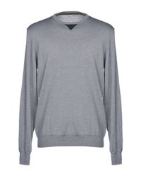 Barbati - Gray Sweater for Men - Lyst