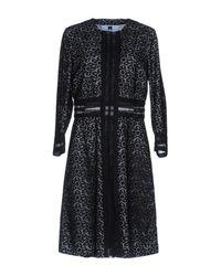 Blumarine - Black Overcoat - Lyst