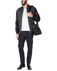 Prada - Black Cross-body Bags for Men - Lyst