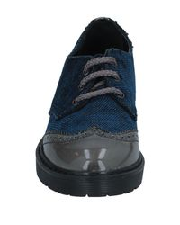 2 Star Blue Lace-up Shoe for men