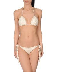 Anna Kosturova - White Bikini - Lyst