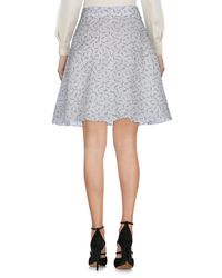 J.W. Anderson - Blue Knee Length Skirts - Lyst