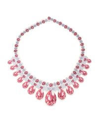 Moschino - White Necklace - Lyst