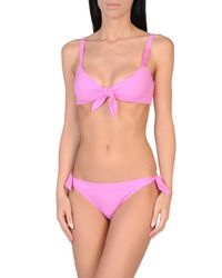 Moschino - Purple Bikini - Lyst