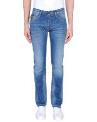 Guess Blue Denim Trousers for men