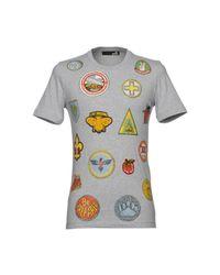 Love Moschino - Gray T-shirt for Men - Lyst