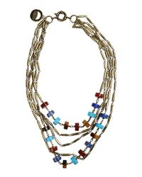 Giles & Brother | Metallic Necklace | Lyst