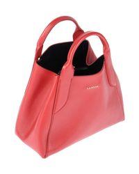 Lanvin - Red Handbag - Lyst