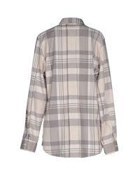 Lot78 - Gray Shirts - Lyst