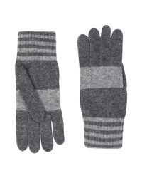 Pierre Darre' - Gray Gloves for Men - Lyst