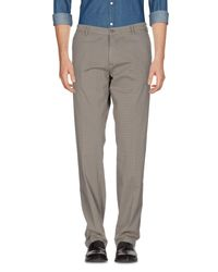 40weft - Gray Casual Trouser for Men - Lyst