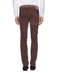Tejido | Brown Casual Trouser for Men | Lyst