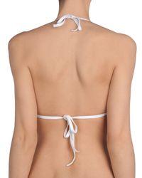 La Perla - White Bikini Top - Lyst