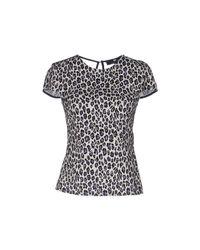 Elisabetta Franchi - White T-shirt - Lyst
