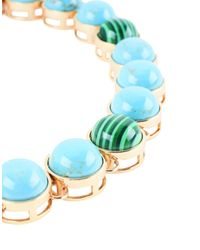 Tory Burch - Blue Necklace - Lyst