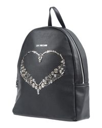 Love Moschino - Black Backpacks & Fanny Packs - Lyst