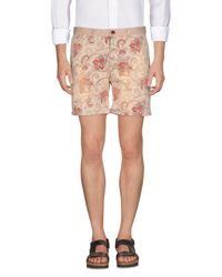 Scotch & Soda - Pink Shorts for Men - Lyst