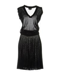 Emporio Armani Blue Knee-length Dress
