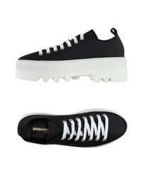 DSquared² | Black Low-tops & Trainers for Men | Lyst