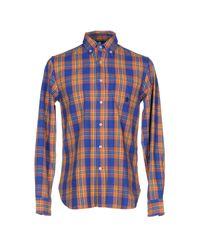 Marina Yachting - Blue Shirt for Men - Lyst