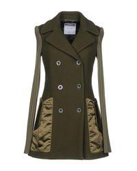 Moschino - Green Coats - Lyst