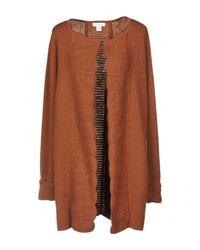 INTROPIA - Brown Cardigan - Lyst