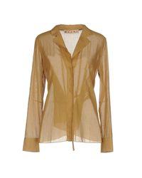 Marni - Natural Shirt - Lyst