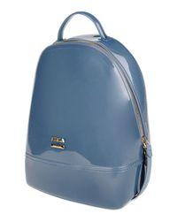 Furla | Blue Backpacks & Fanny Packs | Lyst
