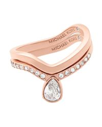 Michael Kors - Multicolor Ring - Lyst